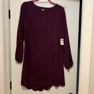 Charlotte Russe dark purple dress